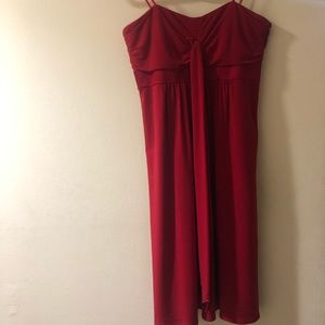 Red Laundry Dress by Shelli Segal